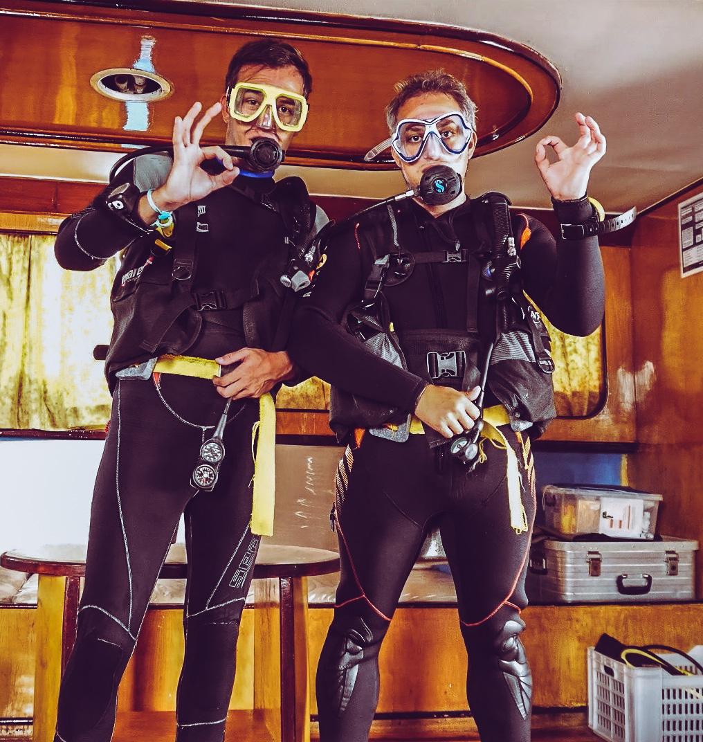 Robert und Christopher im Buddy-System