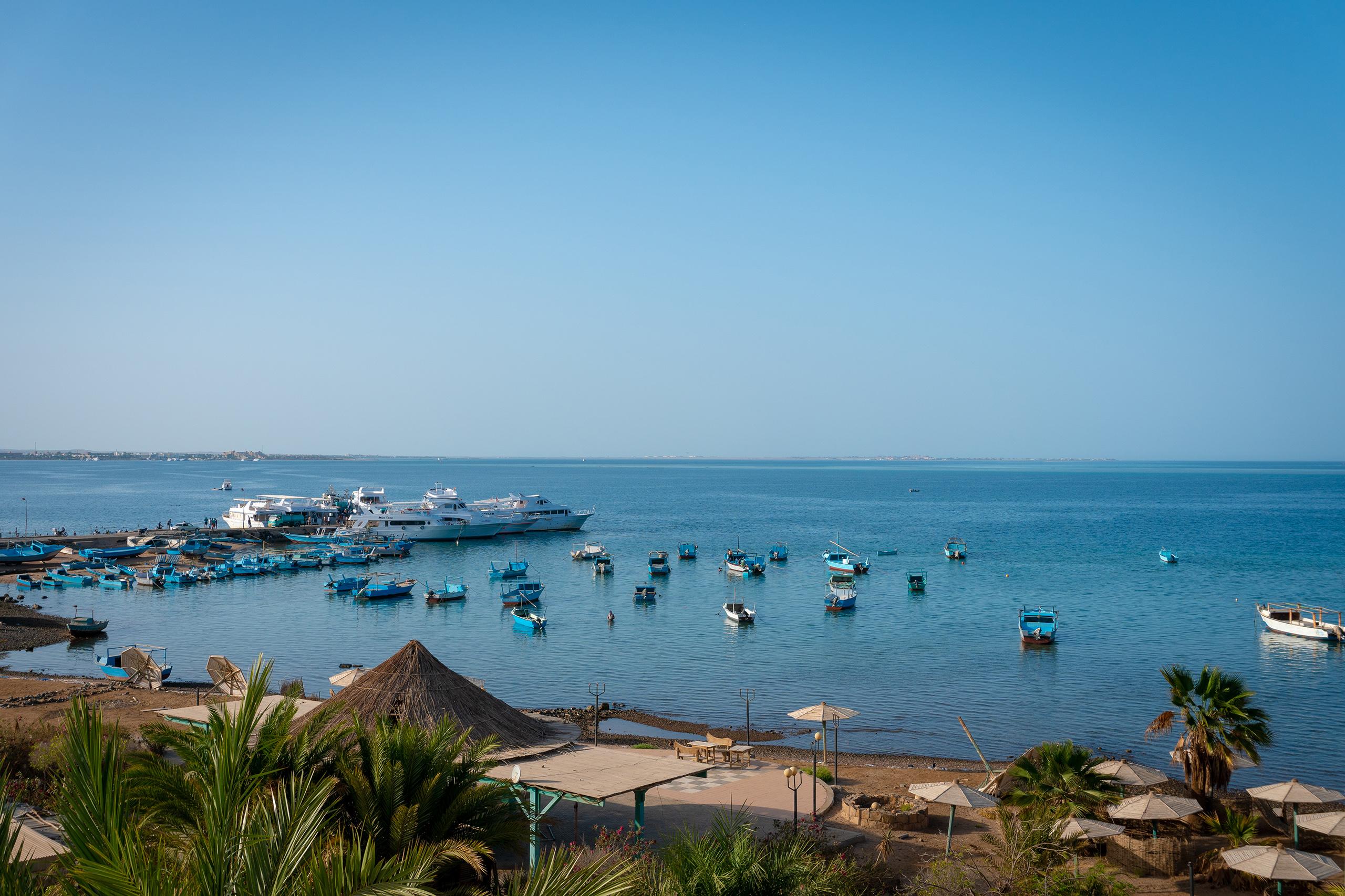 Tauchen in Hurghada Anlegestelle