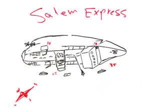 Tiefengabe beim Wracktauchen der Salem Express