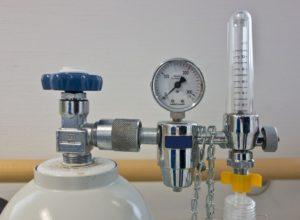 Erste-Hilfe-Sauerstoffflasche