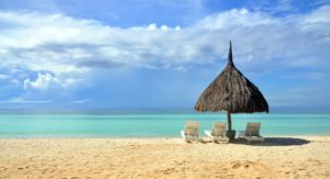 Philippinischer Strandabschnitt